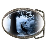 Animal Deer In Forest Belt Buckle