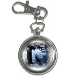 Animal Deer In Forest Key Chain Watch