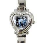 Animal Deer In Forest Heart Italian Charm Watch
