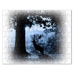 Animal Deer In Forest Jigsaw Puzzle (Rectangular)