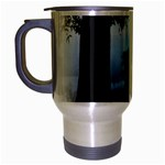 Animal Deer In Forest Travel Mug (Silver Gray)