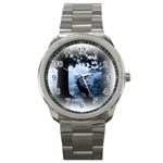Animal Deer In Forest Sport Metal Watch