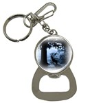 Animal Deer In Forest Bottle Opener Key Chain