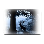 Animal Deer In Forest Small Doormat