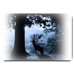 Animal Deer In Forest Large Doormat