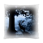 Animal Deer In Forest Cushion Case (One Side)