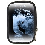 Animal Deer In Forest Compact Camera Leather Case