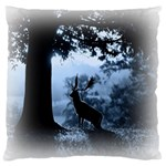 Animal Deer In Forest Large Cushion Case (Two Sides)