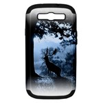 Animal Deer In Forest Samsung Galaxy S III Hardshell Case (PC+Silicone)