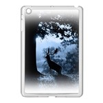 Animal Deer In Forest Apple iPad Mini Case (White)