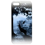 Animal Deer In Forest Apple iPhone 5 Hardshell Case with Stand
