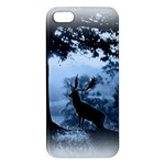 Animal Deer In Forest iPhone 5 Premium Hardshell Case