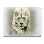 Animal Lion Hunting For Love Small Mousepad