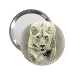 Animal Lion Hunting For Love 2.25  Handbag Mirror