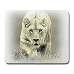 Animal Lion Hunting For Love Large Mousepad