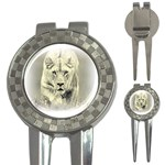 Animal Lion Hunting For Love 3-in-1 Golf Divot