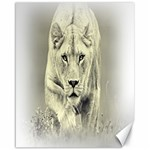 Animal Lion Hunting For Love Canvas 16  x 20
