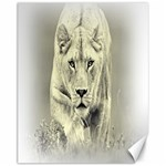 Animal Lion Hunting For Love Canvas 11  x 14