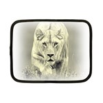 Animal Lion Hunting For Love Netbook Case (Small)