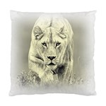Animal Lion Hunting For Love Cushion Case (Two Sides)