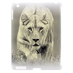 Animal Lion Hunting For Love Apple iPad 3/4 Hardshell Case (Compatible with Smart Cover)