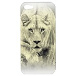 Animal Lion Hunting For Love Apple iPhone 5 Hardshell Case