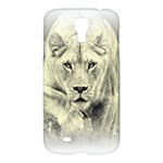 Animal Lion Hunting For Love Samsung Galaxy S4 I9500 Hardshell Case