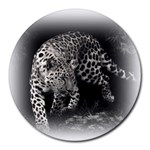 Animal Leopard Round Mousepad