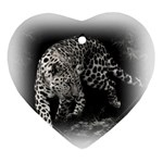 Animal Leopard Ornament (Heart)