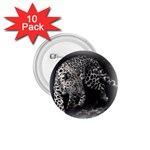 Animal Leopard 1.75  Button (10 pack)