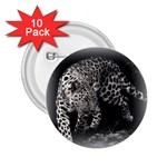 Animal Leopard 2.25  Button (10 pack)