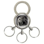 Animal Leopard 3-Ring Key Chain