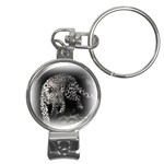 Animal Leopard Nail Clippers Key Chain