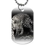 Animal Leopard Dog Tag (One Side)