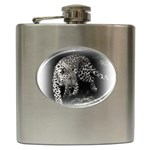 Animal Leopard Hip Flask (6 oz)