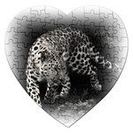 Animal Leopard Jigsaw Puzzle (Heart)