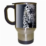 Animal Leopard Travel Mug (White)