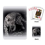 Animal Leopard Playing Cards Single Design