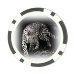 Animal Leopard Poker Chip Card Guard