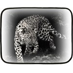 Animal Leopard Mini Fleece Blanket(Two Sides)