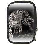 Animal Leopard Compact Camera Leather Case