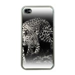 Animal Leopard Apple iPhone 4 Case (Clear)