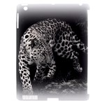 Animal Leopard Apple iPad 3/4 Hardshell Case (Compatible with Smart Cover)