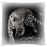 Animal Leopard Large Cushion Case (Two Sides)