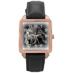 Animal Leopard Rose Gold Leather Watch