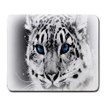 Animal Leopard In Snow Large Mousepad
