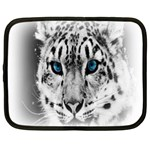 Animal Leopard In Snow Netbook Case (Large)
