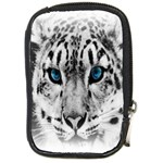 Animal Leopard In Snow Compact Camera Leather Case