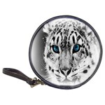 Animal Leopard In Snow Classic 20-CD Wallet