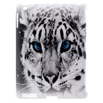Animal Leopard In Snow Apple iPad 3/4 Hardshell Case (Compatible with Smart Cover)